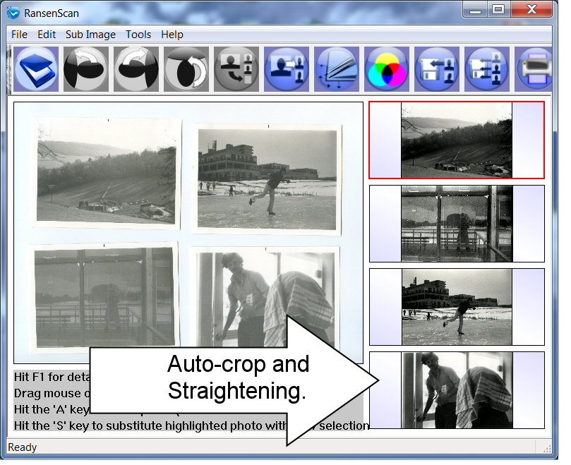 how to put multiple scaned photos into pdf